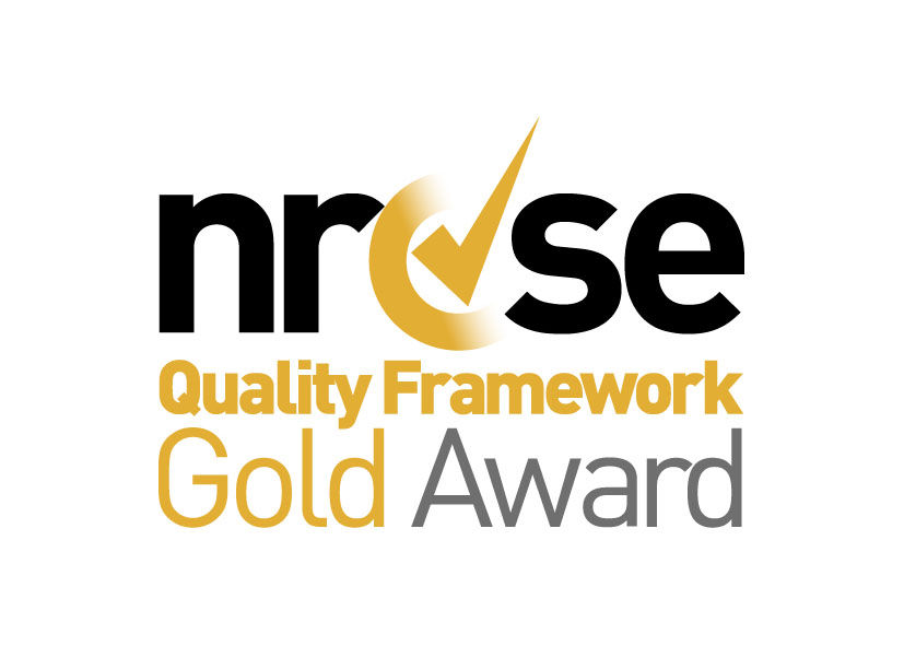 QF gold awards logo